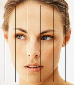 Rinoplastia e cirurgia plástica para deixar o rosto simétrico